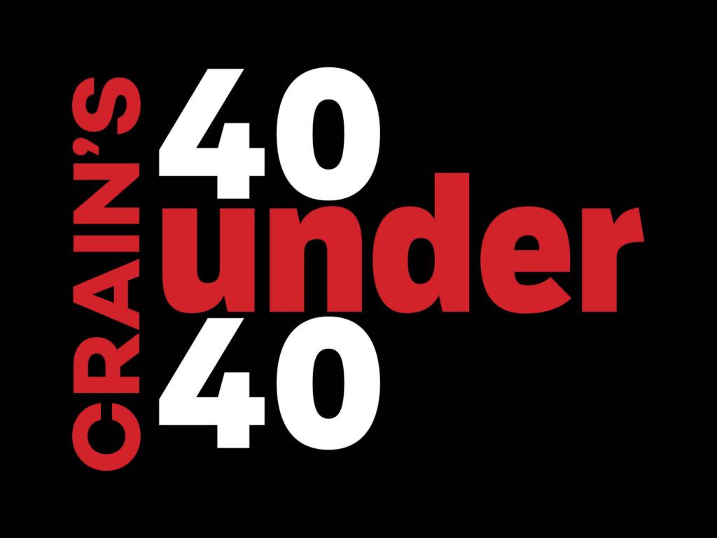 Crain's 40 under 40