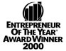 Entrepreneur Of the Year - Award Winner 2000