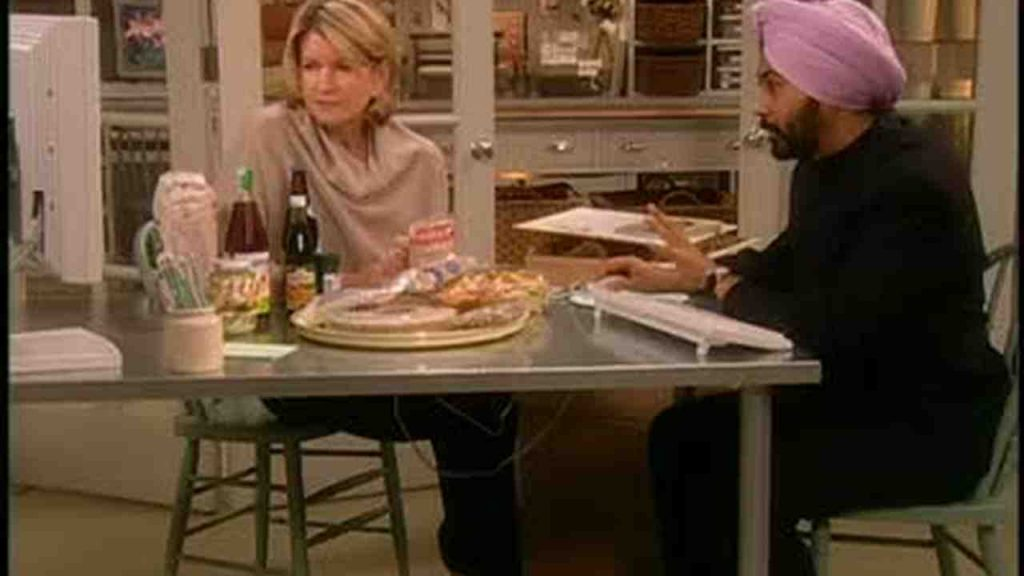 Parry Singh on Martha Stewarts Show - Featuring EthnciGrocer.com